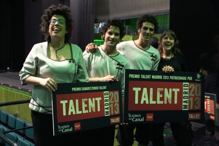 Marta Gonzalez, ganadora de Talent Madrid