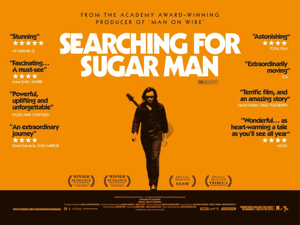 Cartel de la película Searching for Sugar Man